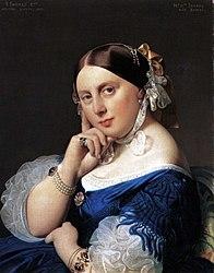 Жан-Огюст-Доминик Энгр: Portrait of Delphine Ramel