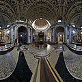 Interior Oudenbosch Basilica 9 One Third Copy of Saint Peter's Basilica in Rome - 360° photograph.jpg