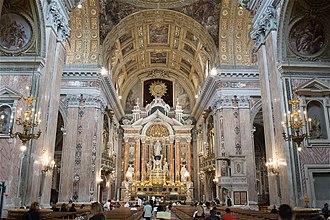 Gesù Nuovo - View towards main altar