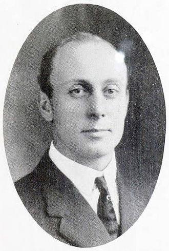 Ira Van Cleave - Van Cleave pictured in Reveille 1914, Fort Hays yearbook