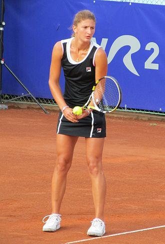Irina-Camelia Begu - Irina won both the singles and the doubles trophies at Copa Bionaire and at the BCR Open Romania Ladies