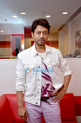 Filmfare Award for Best Actor - The 2018 recipient: Irrfan Khan