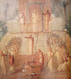 Lychnapsia - Image: Isiac water ceremony