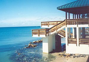 Isla de Cabras - One of the main gazebos at Isla de Cabras Recreational Park (2005)