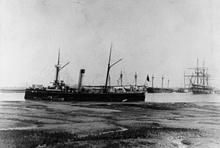 Spanish cruiser <i>Isla de Cuba</i> Spanish cruiser, turned into US gunboat