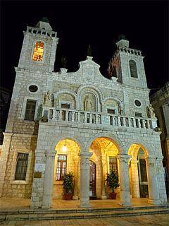 Church in Kafr Kanna, Israel