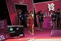 Israel Rhythmic gymnastics at the 2012 Summer Olympics (7915411624).jpg