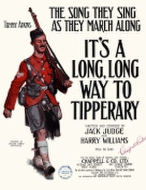 It's a Long Way to Tipperary - It's a Long Way to Tipperary... (sheet music cover).