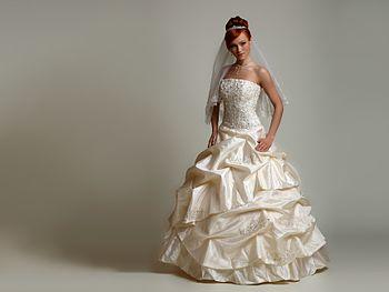 19b22e7bca9 Свадебное платье — Википедия
