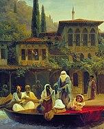 Ivan Constantinovich Aivazovsky - Boat Ride by Kumkapi in Constantinople