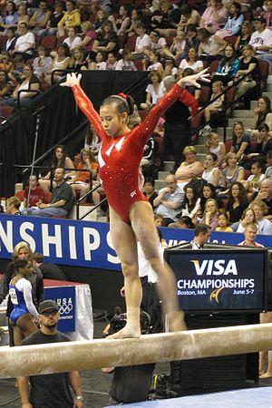 Ivana Hong - Hong at the 2008 U.S. National Championships