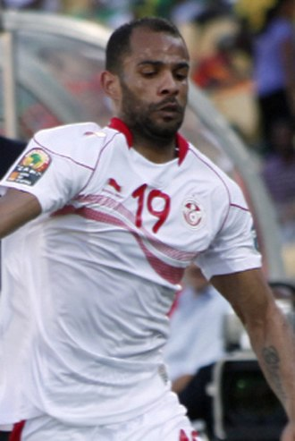 Saber Khalifa - Khalifa playing for Tunisia at the 2013 Africa Cup of Nations