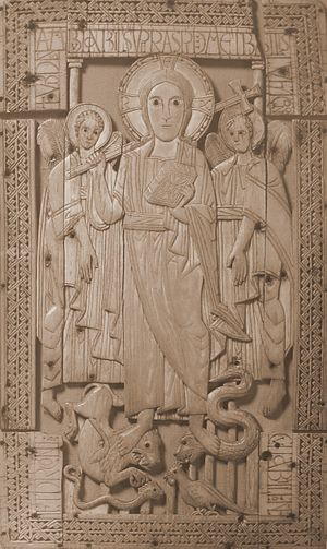 Psalm 91 - Image: Ivory from Genoels Elderen left