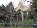 Ivy covered chapel in Manston - geograph.org.uk - 336044.jpg