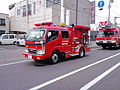 Iwamizawa-area-fire-department pumper-of-volunteer-fire-corps.JPG