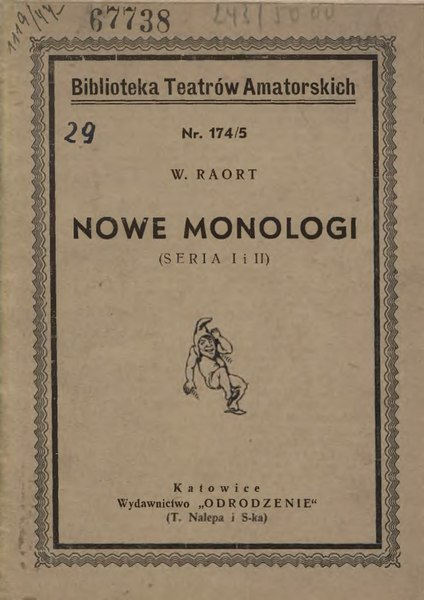 File:Józef Wilhelm Rappaport - Nowe monologi.djvu