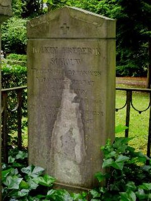 Joakim Frederik Schouw - Joakim Frederik Schouw's tomb at Assistens Kirkegård, Copenhagen