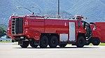 JMSDF Rosenbauer Panther 6x6(41-4126) right rear view at Maizuru Air Station July 26, 2015.jpg