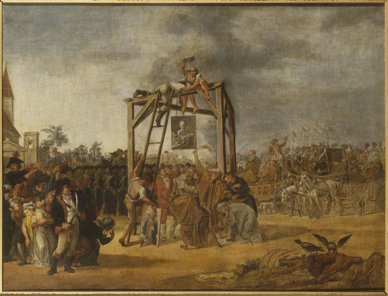 File:JP Norblin Hanging of traitors in effigie.jpg