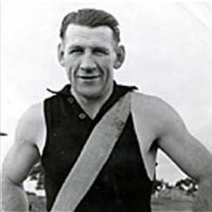 1943 VFL season - Jack Dyer, captain of 1943 VFL premiership winners Richmond
