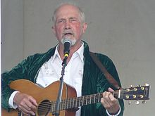 Jack Hardy performing at the Falcon Ridge Folk Festival 2008.