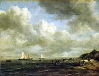 Jacob van Ruisdael - Seashore.jpg