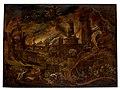 Jacob van Swanenburg - The Sibyl showing Aeneas the Underworld Charon's boat.jpg