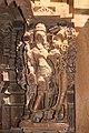 Jaisalmer-04-Shikhara of Jain temple of Aranath-Embraced couple-20131010.jpg