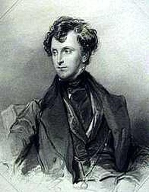 James Emerson Tennent - James Tennent drawing by Andrew Nicholl