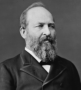 1880 United States presidential election in South Carolina - Image: James Garfield