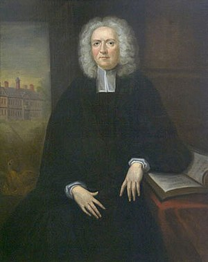 Francis Nicholson - James Blair, whose efforts to found the College of William and Mary Nicholson supported