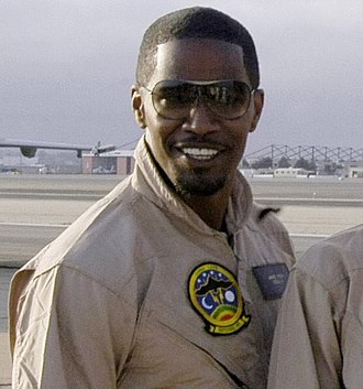 Jamie Foxx - Foxx promoting Stealth in July 2005.