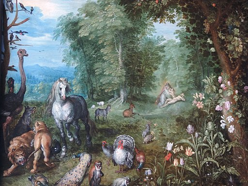 Jan Brueghel d.J. - Paradise with the Creation of Eve