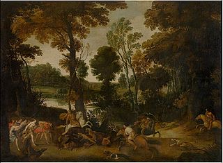 Landscape with Hunt of Meleager and Atalanta