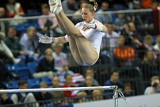 Jana Komrsková Czech gymnast