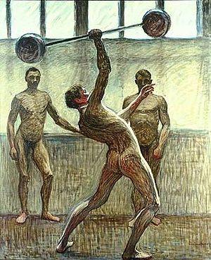 Jansson, Eugène Fredrik (1862-1915) - Lifting ...