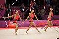 Japan Rhythmic gymnastics at the 2012 Summer Olympics (7915166812).jpg