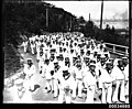 Japanese sailors from the Imperial Naval Squadron visit Taronga Zoo, 28 January 1924 (7218293698).jpg