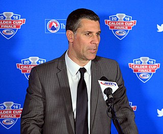 Jared Bednar Canadian ice hockey player and coach