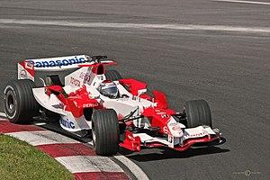 Toyota TF106 - Image: Jarno Trulli 2006 Canada