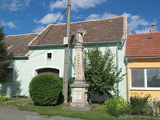 Socha svatého Antonína Paduánského