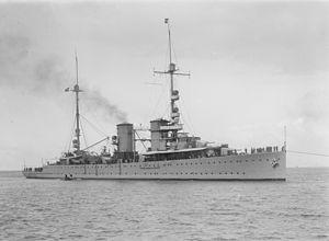 HNLMS Java (1921) - Image: Java cruiser SLV H91.325 284