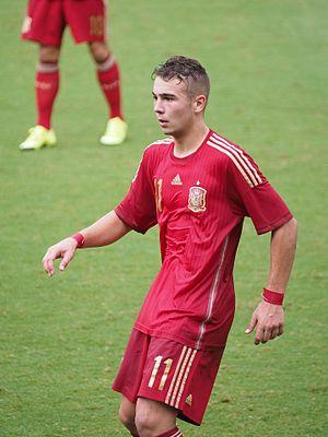 Javier Ontiveros - Ontinveros with Spain U18 in 2015