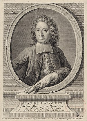 Jacques-Nicolas Tardieu - The French composer Jean-François Lalouette (1651–1728)