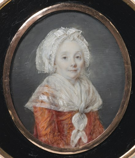 The king's mother Jeanne Jeanne Bernadotte (1728-1809) (Louis Andre Fabre) - Nationalmuseum - 24994.tif