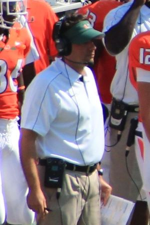 Jedd Fisch - Fisch with Miami in 2012