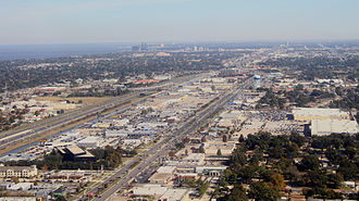 Big box shopping centers in suburban New Orleans, Louisiana Jefferson Parish Suburbs of New Orleans.jpg