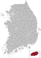 Jeju Postal central office precinct map.png