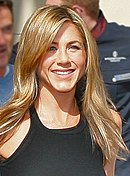 Aniston in 2008