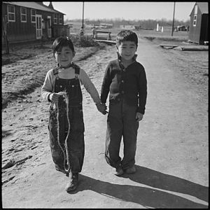 Jerome War Relocation Center - Jerome Relocation Center, 1944